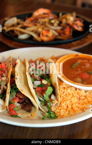 Florida, Homestead, Krome Avenue, Casita Tejas Mexican, restaurant restaurants food dine dining eating out casual - Stock Photo