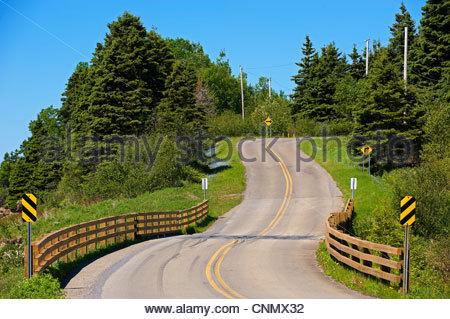 Parc National Forillon,Gaspesie,Gaspé Peninsula,Quebec,Canada - Stock Photo