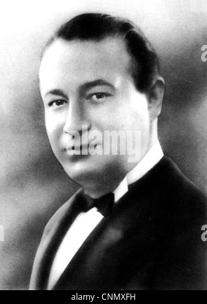 OSCAR RABIN (1899-1958) Latvian-born English bandleader  about 1935 - Stock Photo