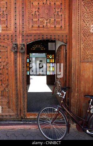 Doorway in Marrakech - Stock Photo