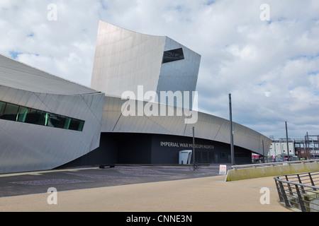 Imperial War Museum North, Salford, UK - Stock Photo