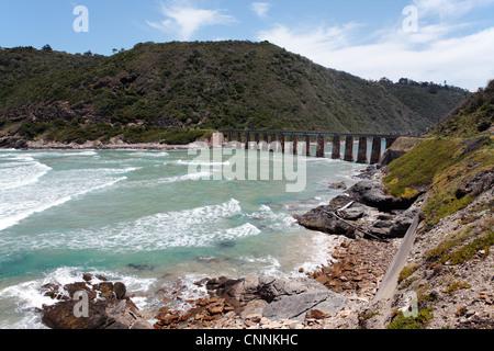 Bridge over Kaaimans River South Africa