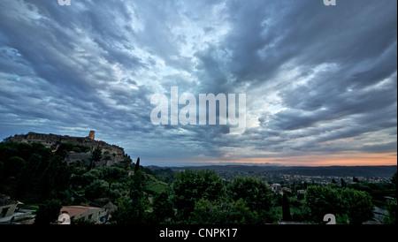 [city square] sky cloud [saint paul de vence]