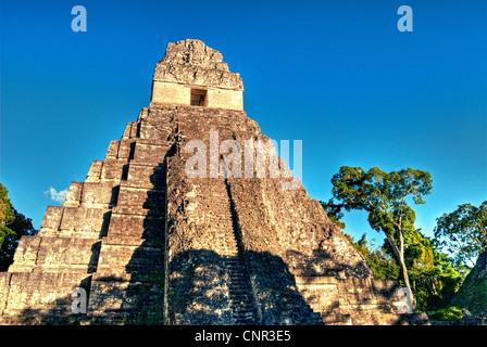 Tikal's Temple I. - Stock Photo
