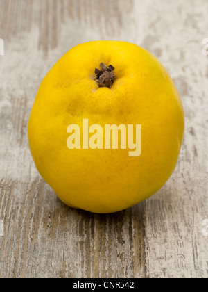 Quince on Wood - Stock Photo