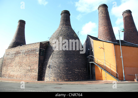 Gladstone Pottery Museum The Potteries Longton Stoke-on-Trent Stoke on Trent - Stock Photo