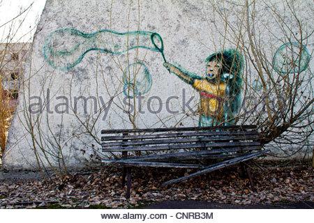Chernobyl. Pripiat. 2012 March, Chernobyl. Pripiat. - Stock Photo