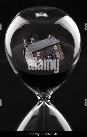 Housing market collapse - Stock Photo