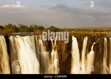 Victoria Falls, Zimbabwe, Victoria Falls National Park - Stock Photo
