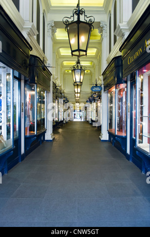 Europe England London, Piccadilly,the Burlington arcade - Stock Photo