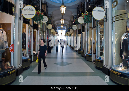 Europe England London, the Piccadilly arcade - Stock Photo