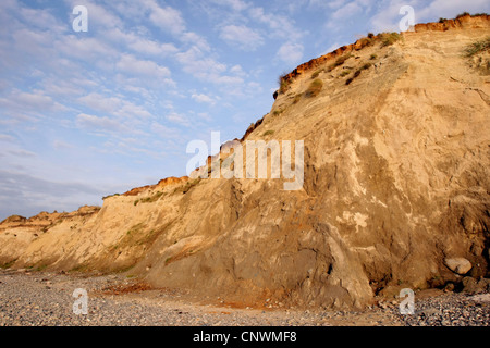 steep coast, Germany, Mecklenburg-Western Pomerania, Baltic Sea - Stock Photo