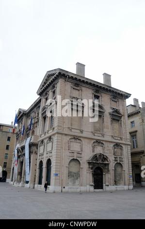Hôtel de ville de Marseille ( City Hall) on the Quai du Port, Marseille, Provence-Alpes-Côte d'Azur, France - Stock Photo