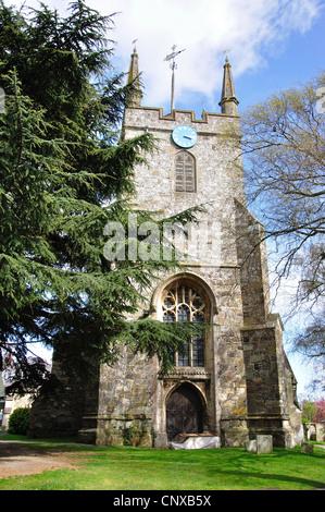St.Mary's Church, Hailsham, East Sussex, England, United Kingdom - Stock Photo