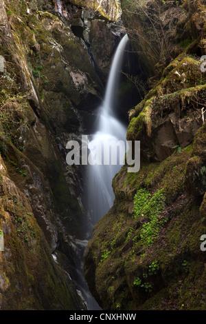 Aira Force, Ullswater, Lake District National Park, Cumbria - Stock Photo