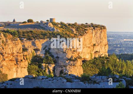 Les Baux-de-Provence, France, Provence - Stock Photo