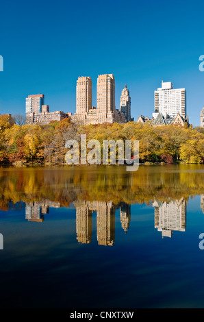 Central Park West Upper West Side - Stock Photo