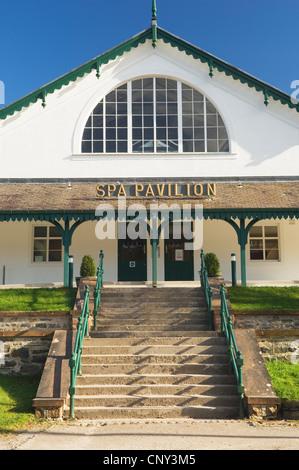 The Spa Pavillion, Strathpeffer, Ross-shire, Scotland. - Stock Photo