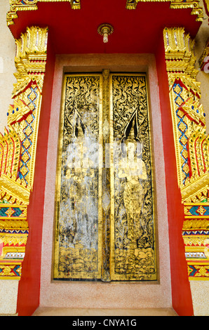 ... Old door of thai temple - Stock Photo & Old style of Thai Door Stock Photo Royalty Free Image: 62228636 ... Pezcame.Com