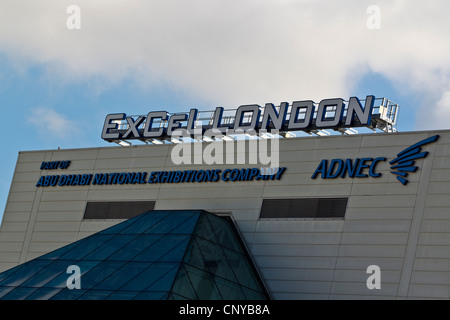 ExCel London International exhibition and Convention Centre Venue East London. - Stock Photo