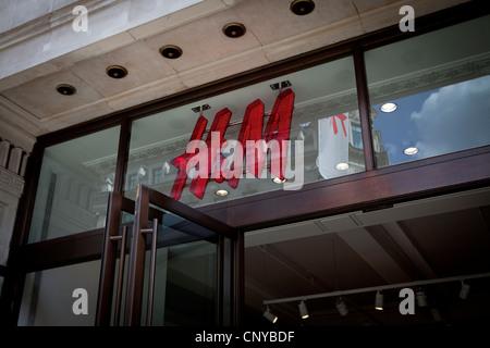H&M store Regent Street, London