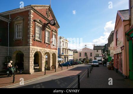 Great Torrington old Town Hall, Devon, England, UK - Stock Photo
