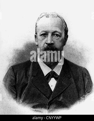 nikolaus otto 1832 1891 german engineer stock photo. Black Bedroom Furniture Sets. Home Design Ideas