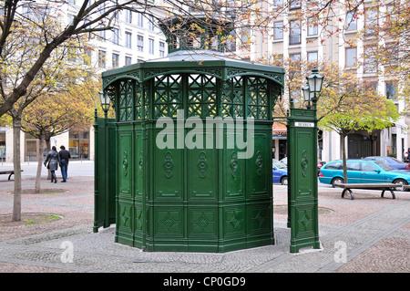 Berlin, Germany. Public (men's) toilet in the Gendarmenmarkt - Stock Photo