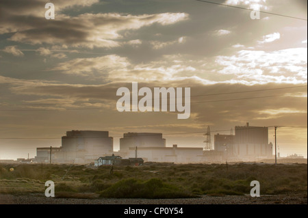 Dungeness Nuclear Power Station in Kent. - Stock Photo