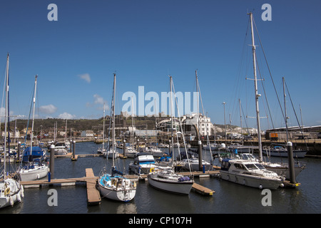 The Marina, Dover, Kent, UK. - Stock Photo