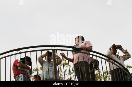 Group of photographers,Professional photographer,Photographers,Crowd,People,outdoor,Action,Reportage,s.l.r.camera,Photo - Stock Photo