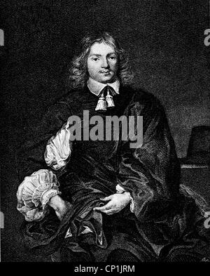 Cary, Lucius, 2nd Viscount Falkland, circa 1610 - 20.9.1643, English politician and author / writer, Secretary of - Stock Photo