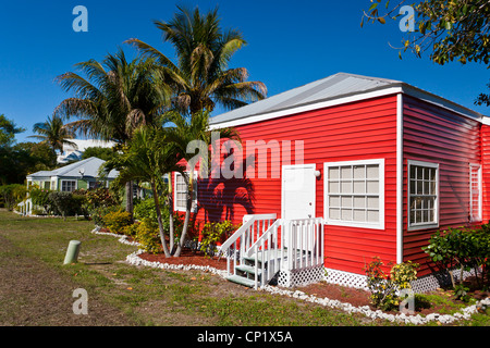 The Castaways Resort cottages on Captiva Island, Florida, USA. - Stock Photo