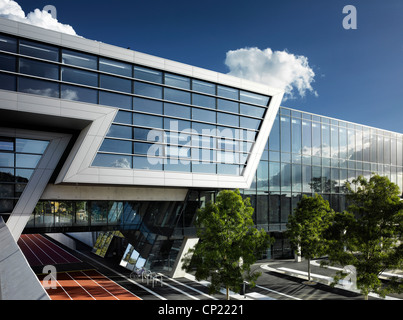 Daytime Exterior of Evelyn Grace Academy, a school by Zaha Hadid - Stock Photo