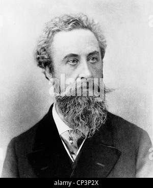 ROBERT BULWER-LYTTON (1831-1891) English statesman and poet, Viceroy of India - Stock Photo