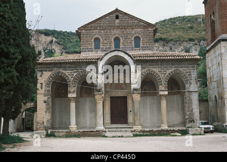 CAMPANIA S. Angelo in Formis BASILICA - Stock Photo