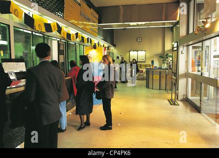 France Ile De France Paris Post Office - Stock Photo