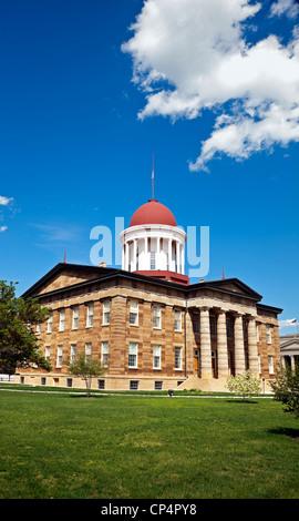 Springfield, Illinois - Old State Capitol - Stock Photo