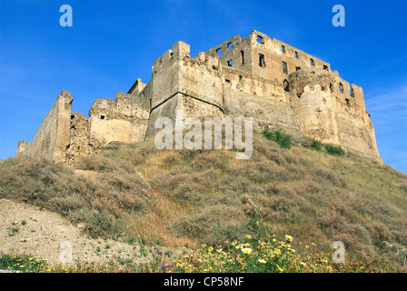 Calabria. Rocca Imperiale (CS), the castle of Frederick II. - Stock Photo