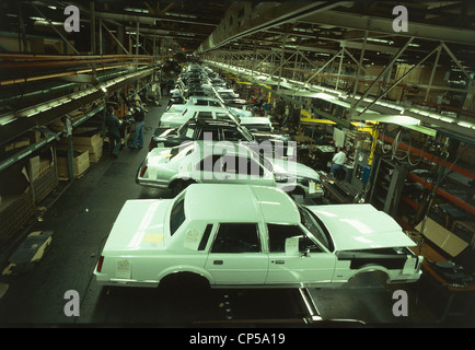 Industry Automobile Industry Usa Detroit Ford Works