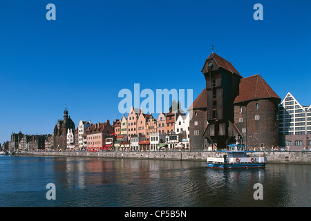 Poland - Pomerania - Danzig (Gdansk). - Stock Photo
