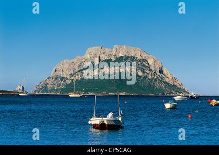 Island Of Sardinia Porto San Paolo Tavolara - Stock Photo