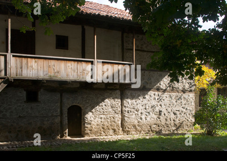 Bulgaria - Bansko. Neofit Rilski House-Museum, home to an exhibition dedicated to the Bulgarian educator - Stock Photo