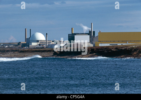 United Kingdom - Scotland - Dounreay - Nuclear power plant. - Stock Photo