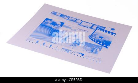 VIM digital printing plates for Offset Printing Press - Stock Photo