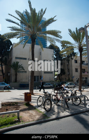 Israel, Tel Aviv, Independence Hall at 16 Rothschild Boulevard. - Stock Photo