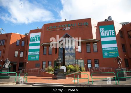 Celtic Park Parkhead Stadium Home Of Glasgow FC Scotland UK