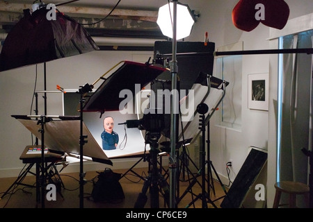 Lighting grip and camera equipment in a commercial photography lighting grip and camera equipment in a commercial photography studio stock photo aloadofball Images
