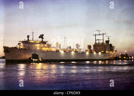 USNS Redstone (T-AGM-20) - Stock Photo