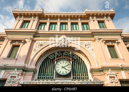 The Central Post Office, Ho Chi Minh City, (Saigon), Vietnam - Stock Photo